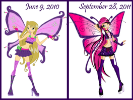What A Year Can Do by AngecondaBite