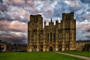 Wells Cathedral Outside by CharmingPhotography