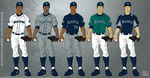 Seattle Mariners 2012 Uniforms by JayJaxon