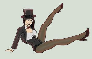 Zatanna by Georgel-McAwesome
