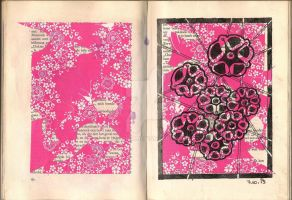 Altered Book 2 P 62 by karomm