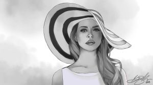 Lana Del Rey - Finished by DoodlesSketchy