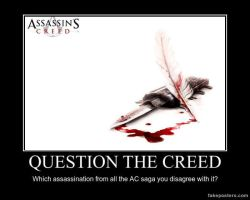 QUESTION THE CREED by JohnnyTlad