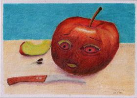 The Fear Of The Apple by volker03
