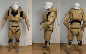 Halo armor progress by dingbat47