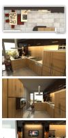 kitchen for RES. 2 by kromrt