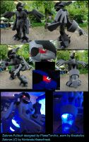 Zekrom Fullsuit by FlameTorchic