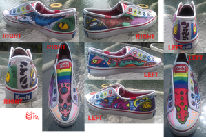 Dragon Shoes by jellyskink