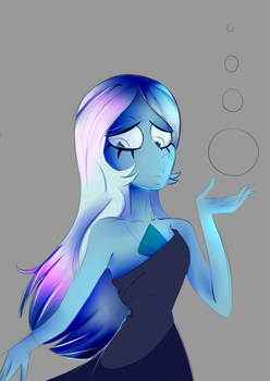 Blue Diamond by Sideshow-Spottus