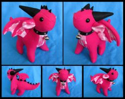 Pet Dragon Plushie by DragonsAndBeasties