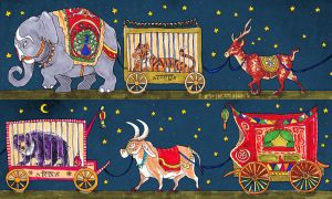 Indian Travelling Circus by BooYeh