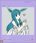 Gijinka Glaceon by killuachan