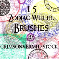 Zodiac Wheels by crimsonvermil-stock