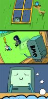 BMO Comic by SIRCollection
