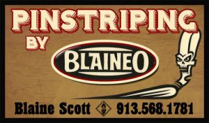 Blaineo pinstripe Card by SD-Designs