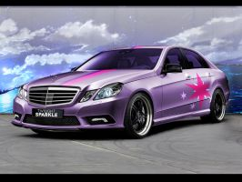 Twilight Sparkle - mercedes-benz by HumblrPI