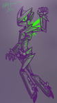 Glowing Robot by StarShooterFrecklz