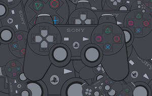 Sony Joypad Wallpaper by MD3-Designs