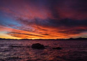 Sand Harbor Sunset140108-41 by MartinGollery