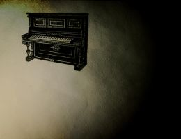 upright piano by AtMyHeart