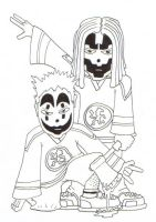 Young Insane Clown Posse by sadc