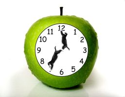 Apple Clock by madrapper