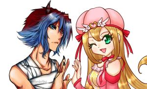 Colaboration: Ryed and Starla by YuikoHeartless