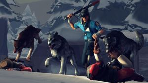 The boy who lived with wolves by hunterscout