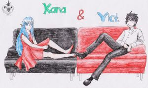 RP Kana with Vict by Novclow