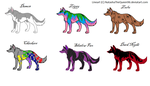 free wolf adopts :closed by cocobeanc