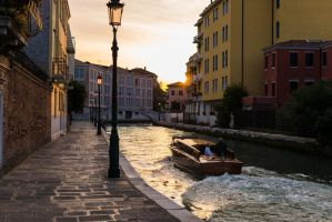 On the Golden Canals of Venice by mjconns