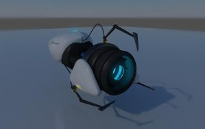 Portal Gun by alexdarkred
