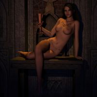 nude and chalice by whitewillow2010