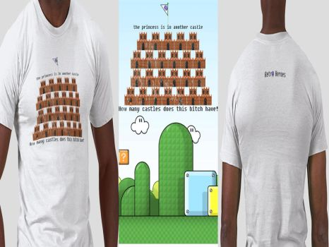Endless Castle by RetroHeroesClothing