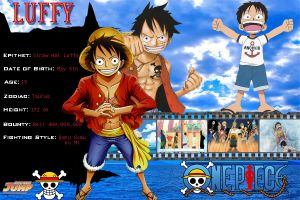 Luffy Profile by Revy11