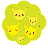 Pikachu Family Tree by Lucora