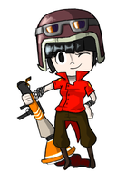 tf2 oc - marcia by meesetrax