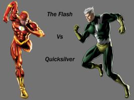 The Flash VS Quicksilver by Lord-Lycan