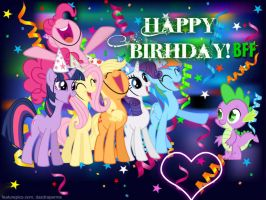 Happy Birhday, Spike! by xXRainbowDash-MLP