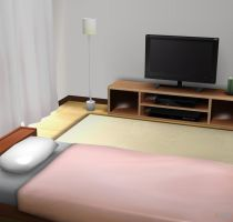 Bed Room HQ for XPS by LexaKiness