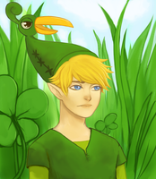 Link (Minish cap) by Zegerstrom