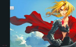 FUllmetal Alchemist Wallpaper by koloromuj