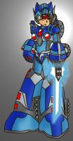 Megaman X V.2 by DragonballXE