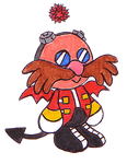 Character Chao: Eggman by Shadowgirlfan