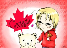 Chibi Canada~ by mell1you0