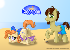Coppertone Twinkle Toes by AleximusPrime
