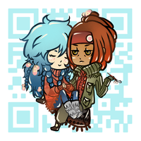 mink and cute aoba by lockoneyes122