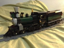 Lego Central Railroad: The William Iron-Horse by steamrailwilly