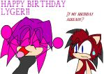 Happy B-Day Lyger by SonicGal390