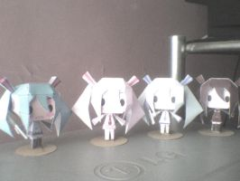All miku seasons...and Zatsune by daigospencer
